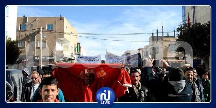 القصرين على وقع الإضراب العام (صور)