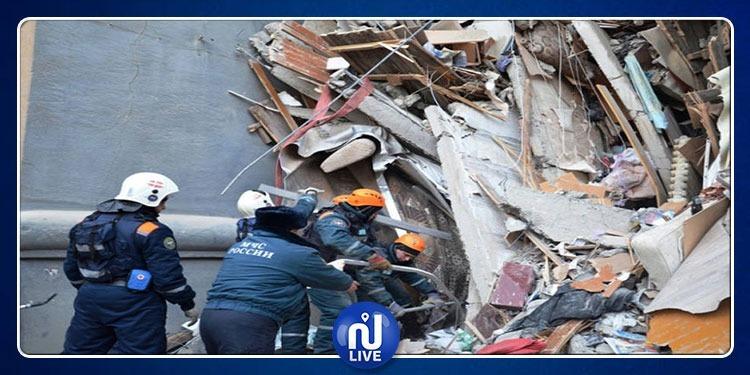 روسيا: انهيار مبنى جامعي في سان بيترسبرغ