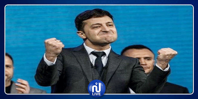 أوكرانيا: ممثل كوميدي يقترب من رئاسة البلاد