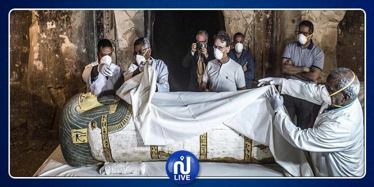 Egypte: Un tombeau et des sarcophages découverts à Louxor