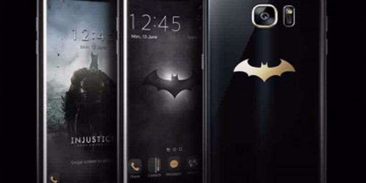 """""""سامسونغ"""" تطلق نسخة باتمان من هاتف Galaxy S7 Edge"""