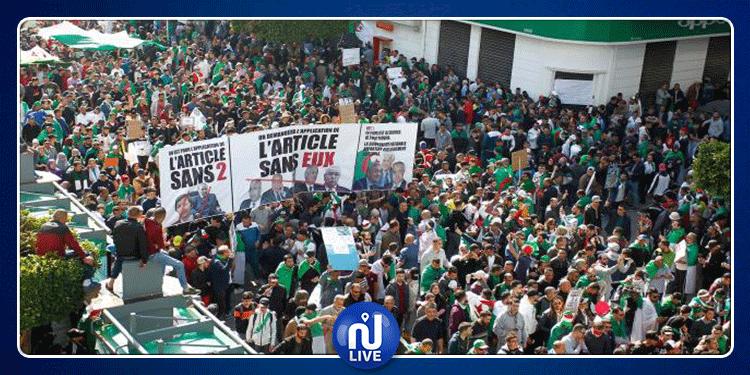 بالغاز وخراطيم المياه: الأمن الجزائري يفرق مظاهرات ضد الرئيس الجديد