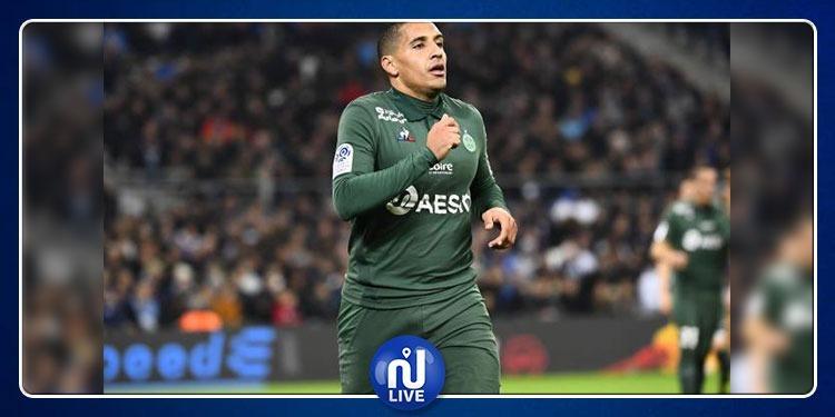 Championnat de France: Khazri inscrit le 1er but de Saint-Etienne