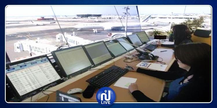 غلق المجال الجوي التونسي بيومين في حال إضراب أعوان الملاحة الجوية
