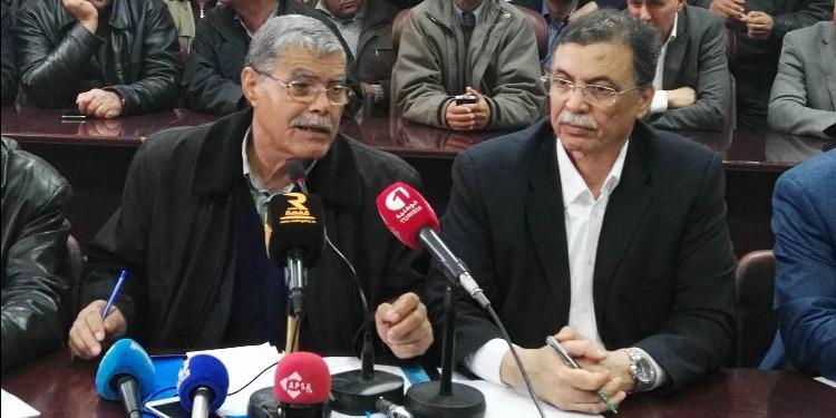 بوعلي المباركي: 'تعليق المشاورات مع المعتصمين لعدم التوصل  الى اتفاق '