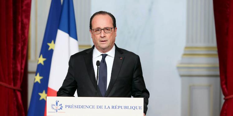 """فرانسوا هولاند: """"داعش وراء هجمات باريس الارهابية"""""""