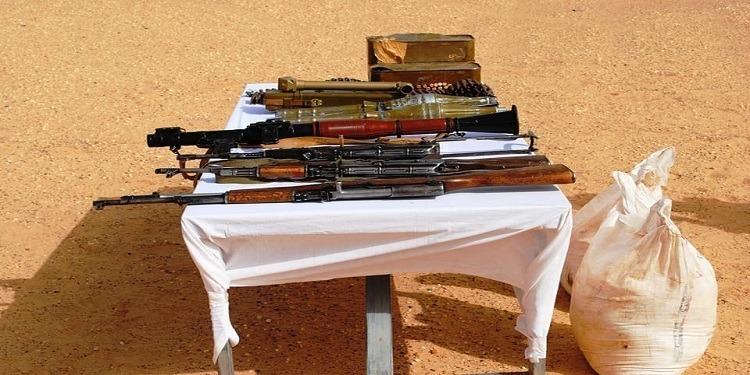 L'armée algérienne découvre une cache d'armes et de munitions