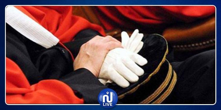 تأمين المحاكم والجلسات وحماية القضاة المهددين