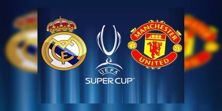 ريال مدريد في مواجهة مانشستر يونايتد في السوبر الأوروبي الليلة في مقدونيا