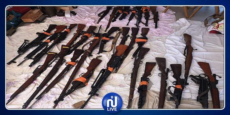 En images: saisie d'armes record, près d'1 tonne, en France