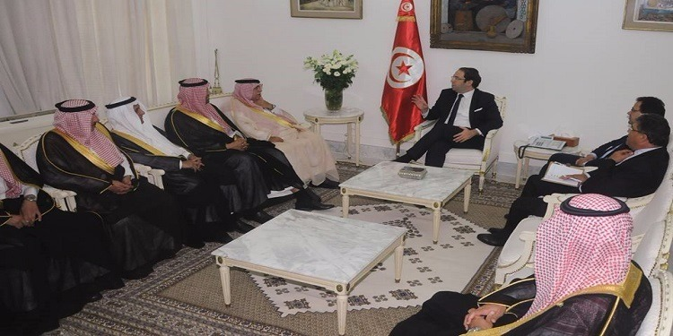 التّعاون التجاري والاستثماري محور لقاء الشاهد بوزير التجارة والاستثمار السعودي