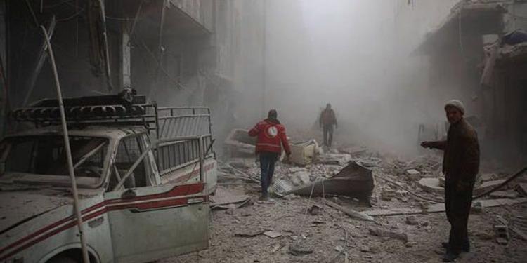 مقتل 14 مدنيا في غارات لقوات النظام السوري على الغوطة