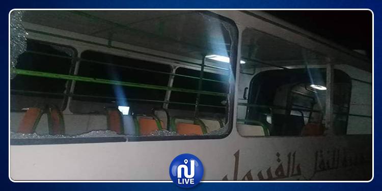 القيروان: الشركة الجهوية للنقل تستنكر الاعتداء على حافلة تابعة لها