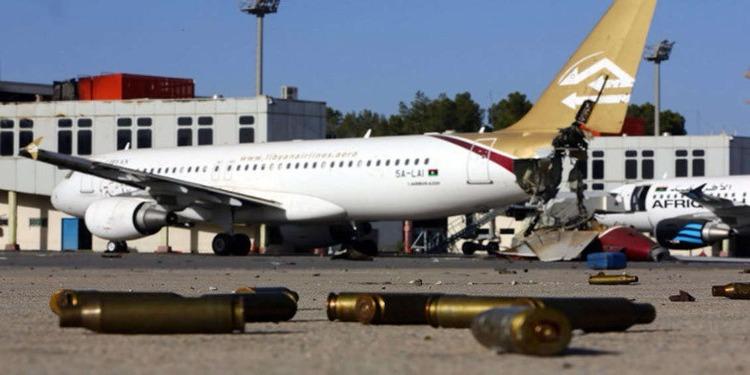 ليبيا: عودة الملاحة الجوية بمطار معيتيقة