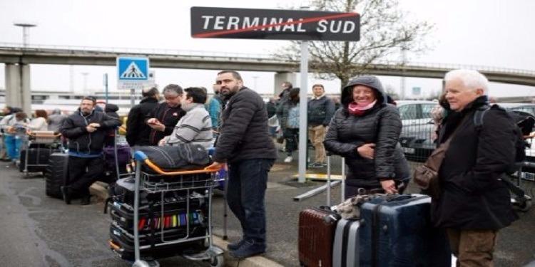 باريس: عودة الحركة تدريجيا إلى مطار أورلي
