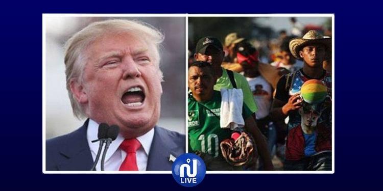 Trump donne l'ordre de tirer sur les migrants…