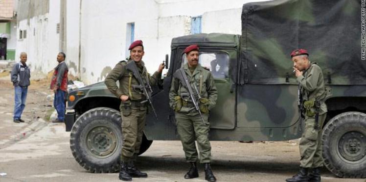 القضاء على مجموعة من الارهابيين في مواجهات بن قردان