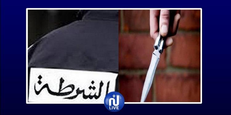 المدينة العتيقة: تركاه يتخبط في دمائه..اعتراض عون أمن وطعنه بسكين