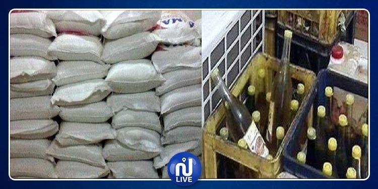 القيروان: حجز 7 أطنان من السميد و360 لترا من الزيت النباتي المدعّم