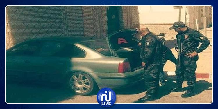 توزر: حجز خرطوشة عيار 14.5 على متن سيّارة ليبية