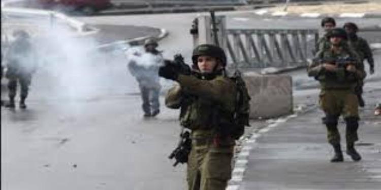 إستشهاد فلسطيني برصاص الإحتلال