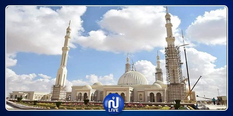 الثاني عالميا: مصر تستعد لافتتاح أكبر مسجد في تاريخها (صور)