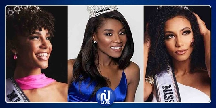 Miss America, Miss USA et Miss Teen USA, toutes 3 afro-américaines