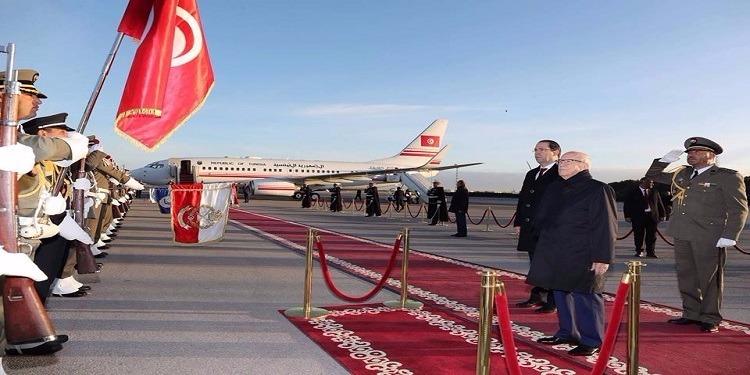 رئيس الجمهورية يغادر تونس في اتجاه أبيدجان