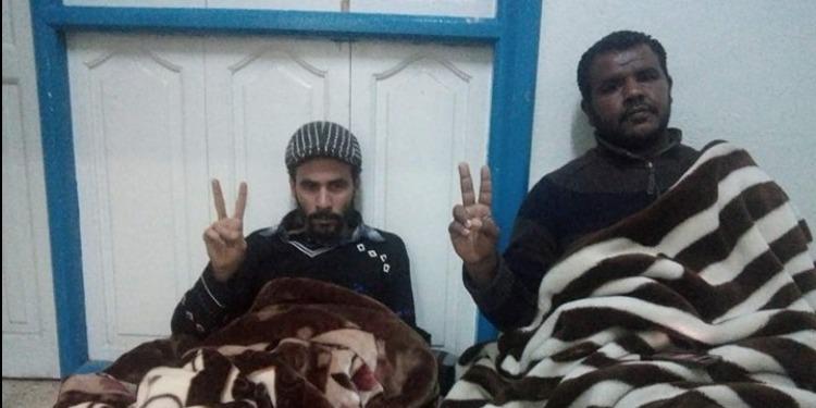 سيدي بوزيد: عدد من معتصمي مجموعة 64 يدخلون في إضراب جوع وحشي (صورة)