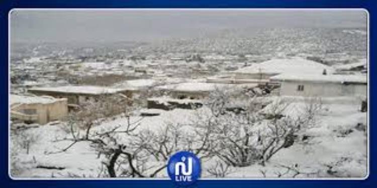 سليانة: بداية تساقط الثلوج في عدد من المناطق