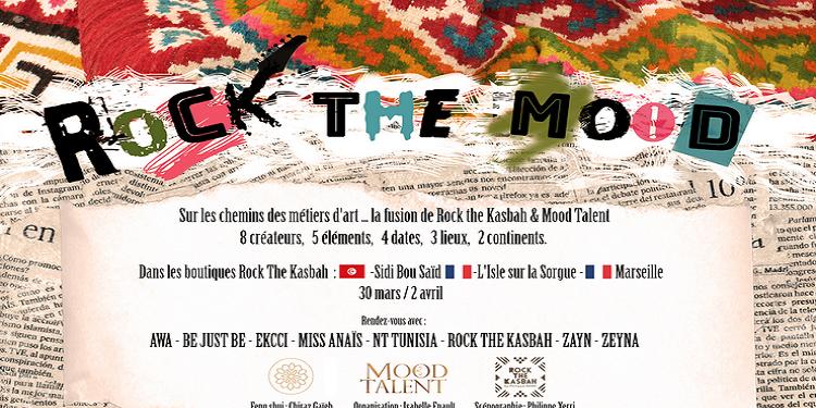 ROCK THE MOOD, un événement autour de la mode et du design, de Sidi Bou Saïd à Marseille