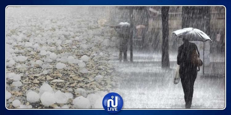 غدا: أمطار متفرقة ورعدية وتساقط البرد