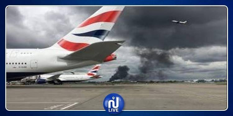 لندن: دوي انفجارات بمطار هيثرو