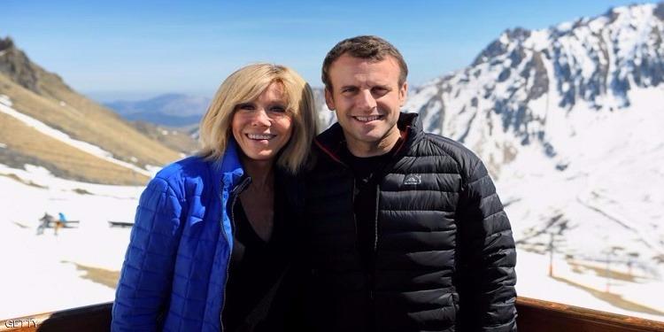 سيدة فرنسا الأولى المرتقبة: تعرفت على ماكرون عندما كان عمره 15 سنة وكانت معلمته في اللغة الفرنسية