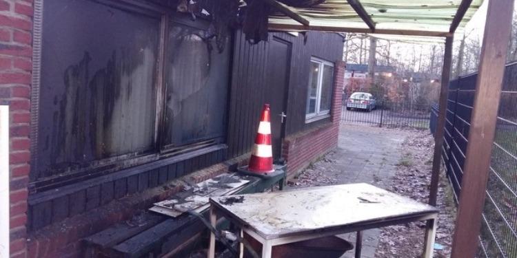 حرق مسجد بشمال هولندا
