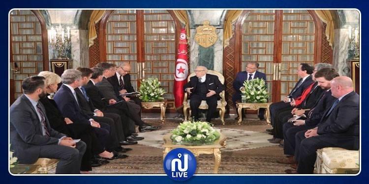 Une délégation du Congrès américain chez Béji Caïd Essebsi