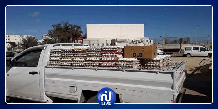 قابس: حجز 15 ألف بيضة تروج خارج المسالك القانونية (صور )