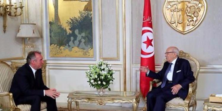 BCE reçoit François Bayrou