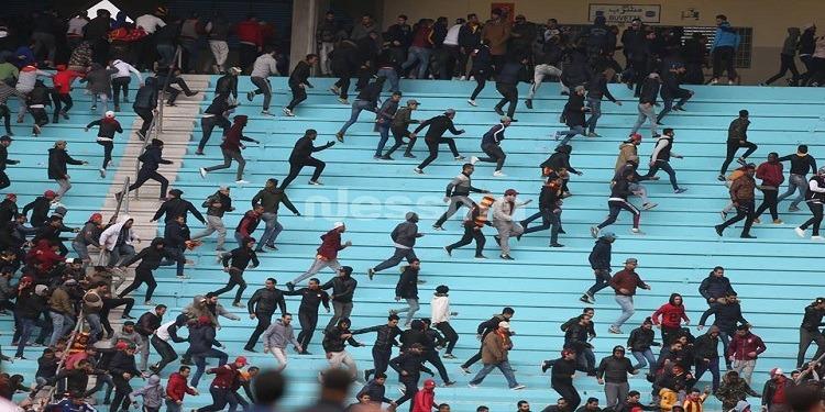 بعد أحداث رادس: ''الويكلو'' يهدد الترجي..وعقوبات ثقيلة في انتظار هذا الثلاثي