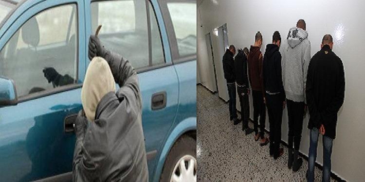 خاص: تفكيك عصابة مختصة في سرقة السيارات الفخمة وحجز كميات من المخدرات