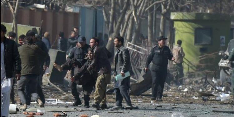 مقتل 40 شخصا على الأقل وإصابة 140 آخرين في انفجار سيارة اسعاف في كابول