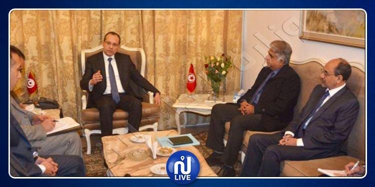 بحث سبل التعاون الأمني ومكافحة الإرهاب بين تونس وباكستان