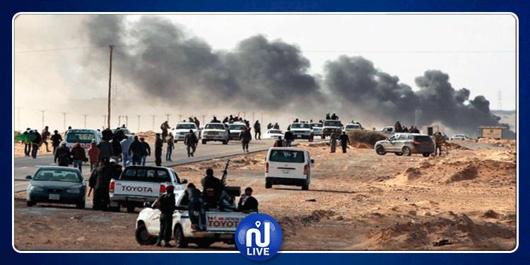 Appel de Jhinaoui et Le Drian à un arrêt des affrontements en Libye