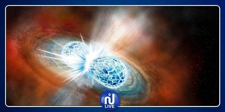 Collision violente entre une étoile à neutrons et un trou noir