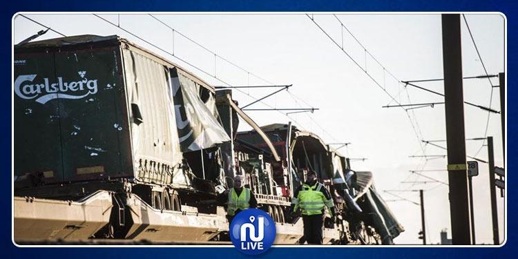 الدنمارك: مقتل 6 أشخاص في حادث قطار على جسر بين جزيرتين