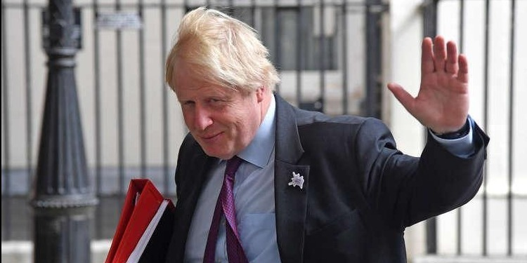 Démission du ministre britannique des Affaires étrangères Boris Johnson