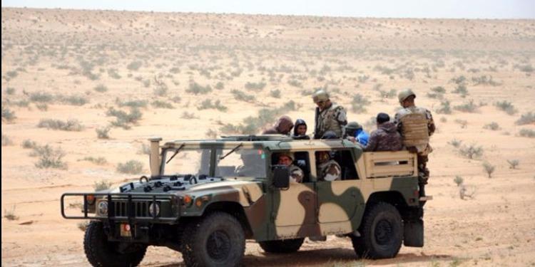 المنطقة الحدودية العازلة : حجز 177 شاحنة تهريب وايقاف 355 شخصا
