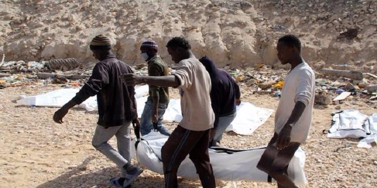 Libye : 7 migrants morts asphyxiés dans le conteneur d'un camion