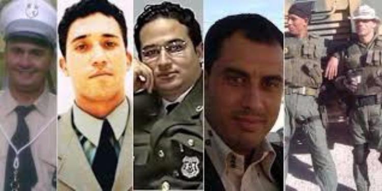سيدي بوزيد : إحياء الذكرى الرابعة لإستشهاد  6  أعوان من  الحرس الوطني
