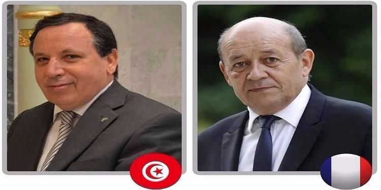 تعزيز علاقات الصداقة بين البلدين فحوى محادثة هاتفية بين وزير الخارجية ونظيره الفرنسي الجديد